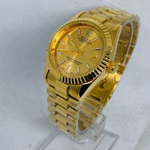 Montre Rolex Oyster perpetual Superlative Chronometer Or cadran Or