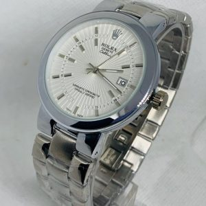 Montre Rolex Geneve Cellini Superlative Chronometer Argent cadran Blanc