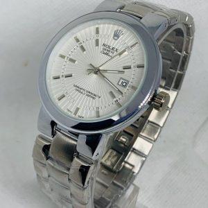 Montre Rolex Geneve Cellini Superlative Chronometer Argent cadran Blanc