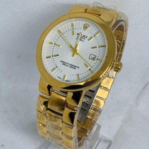 Montre Rolex Geneve Cellini Superlative Chronometer Or cadran Blanc