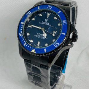 Montre Rolex Oyster perpetual Submariner Noir cadran Bleu