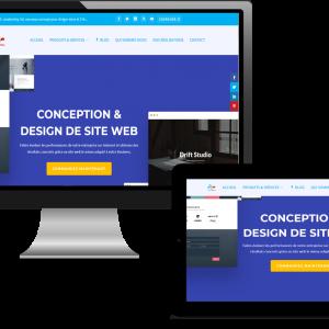 site web personnalisé