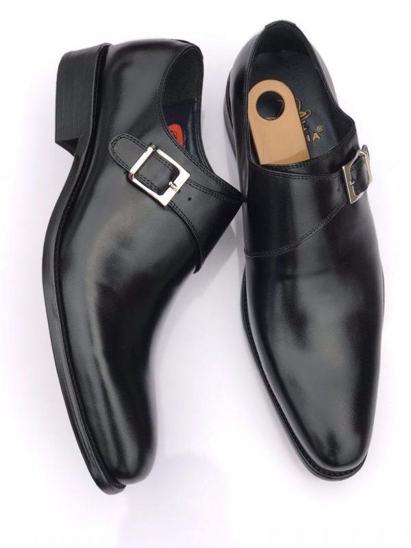 Chaussure Manali cuir Homme Monk