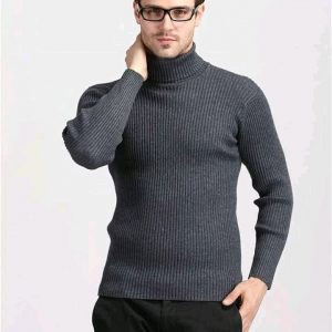 pull col roulé gorgeon homme